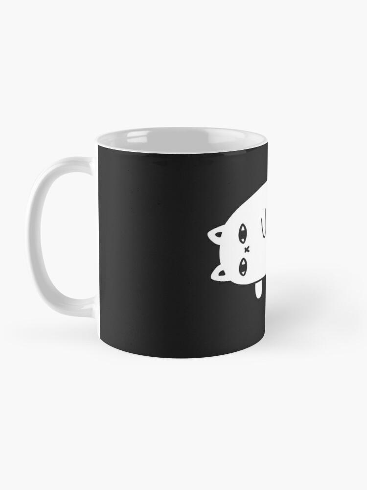 Alternate view of Depression Cat Mug