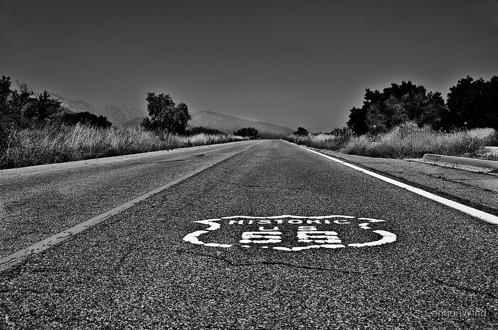 """"""" Rt . 66 Revisited """". by CanyonWind"""