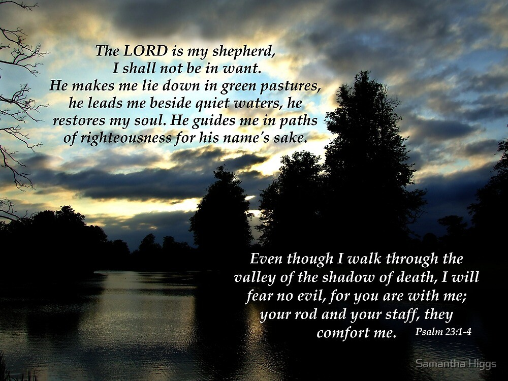 Psalm 23 by Samantha Higgs