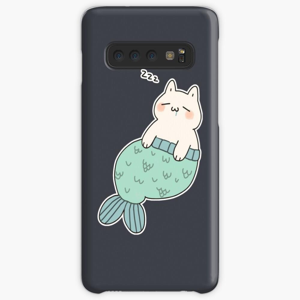 Sleeping Catfish Case & Skin for Samsung Galaxy