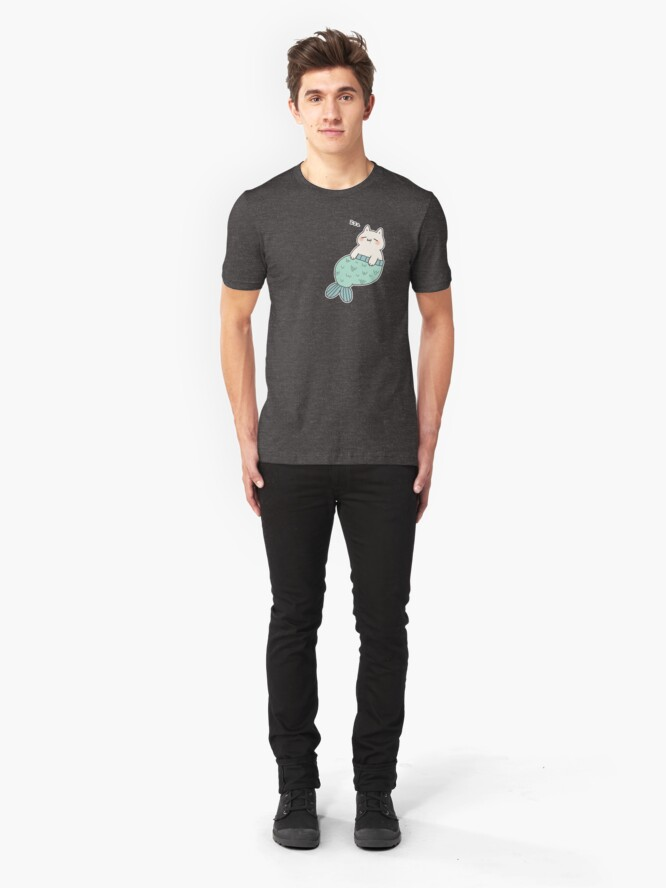 Alternate view of Sleeping Catfish Slim Fit T-Shirt