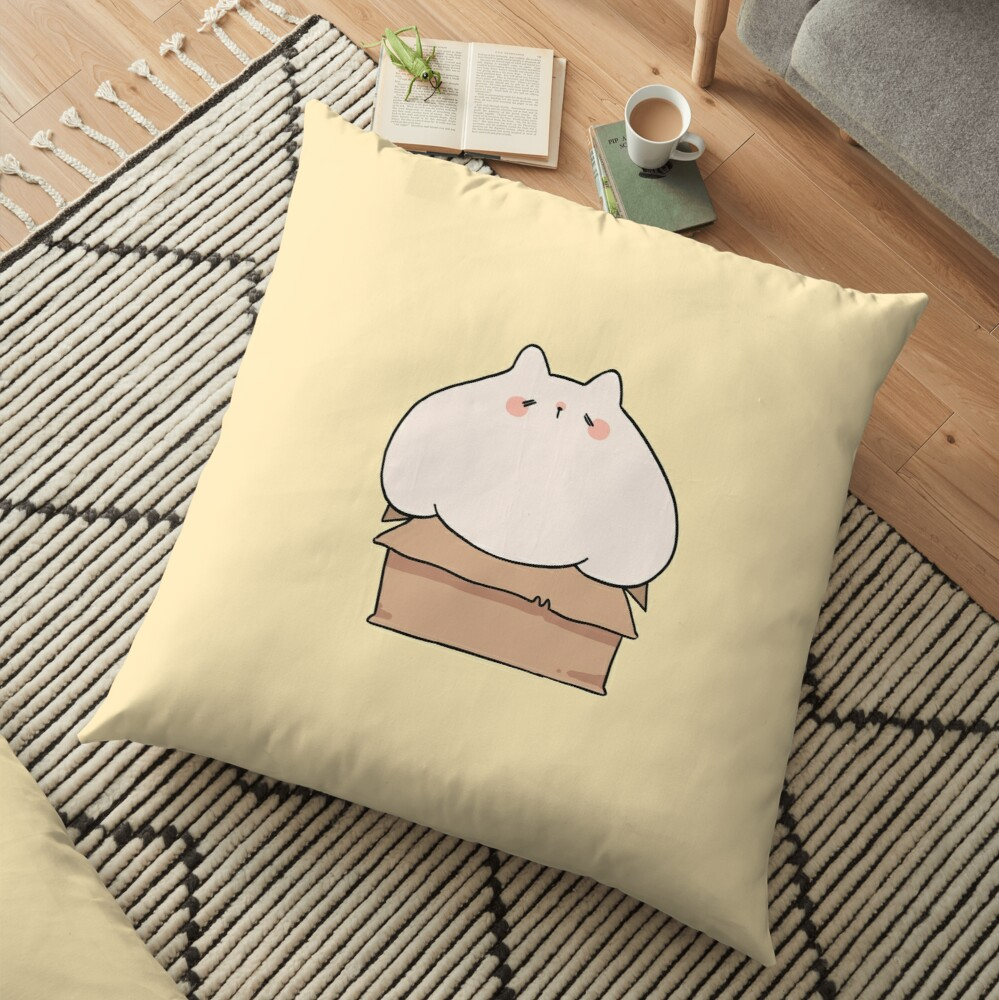If I fits, I sits. Floor Pillow