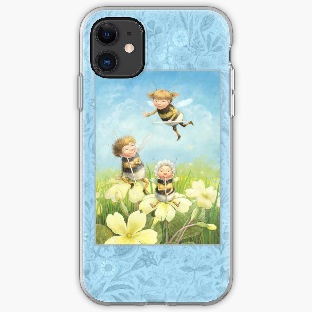 The Bimbles - Cute bee-pixie family iPhone Case & Cover