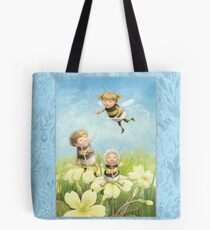 The Bimbles - Cute bee-pixie family Tote Bag
