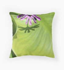 Lilac petals. Throw Pillow