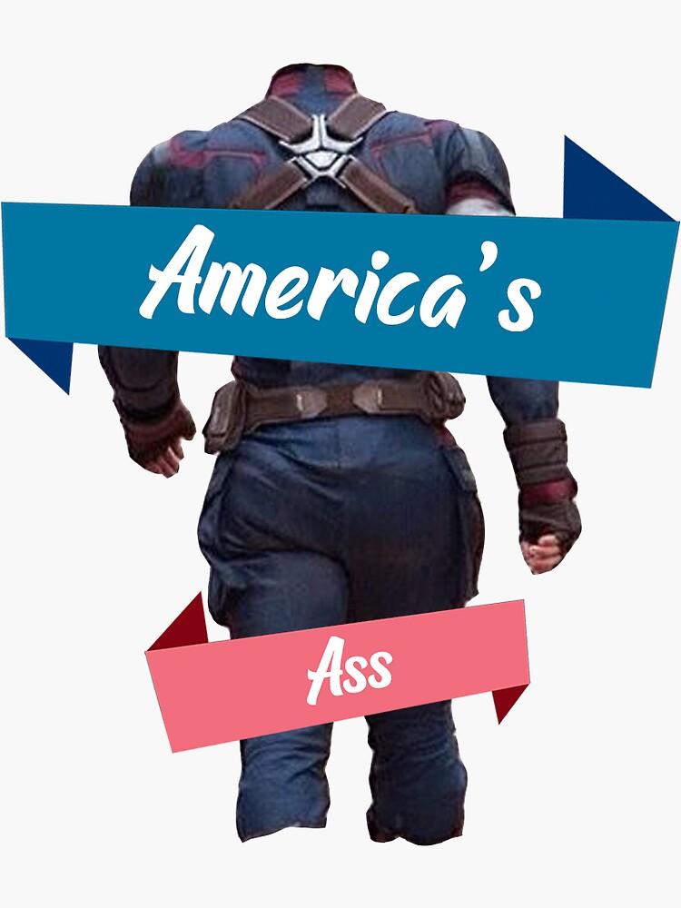 america's ass by angersandwich