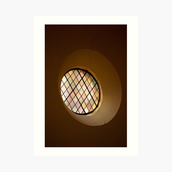 Round Window Art Print