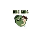 Orc Girl Love by amimercury