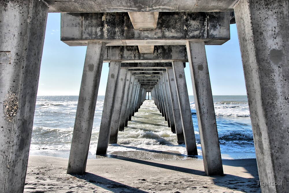 Under the boardwalk, down by the sea... by Tigersoul