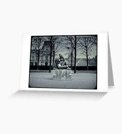 Jardin des Tuileries Greeting Card
