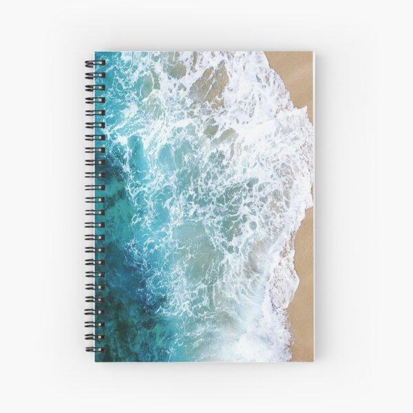 Ocean Foam Spiral Notebook