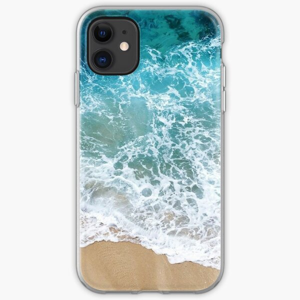 Ocean Foam iPhone Soft Case