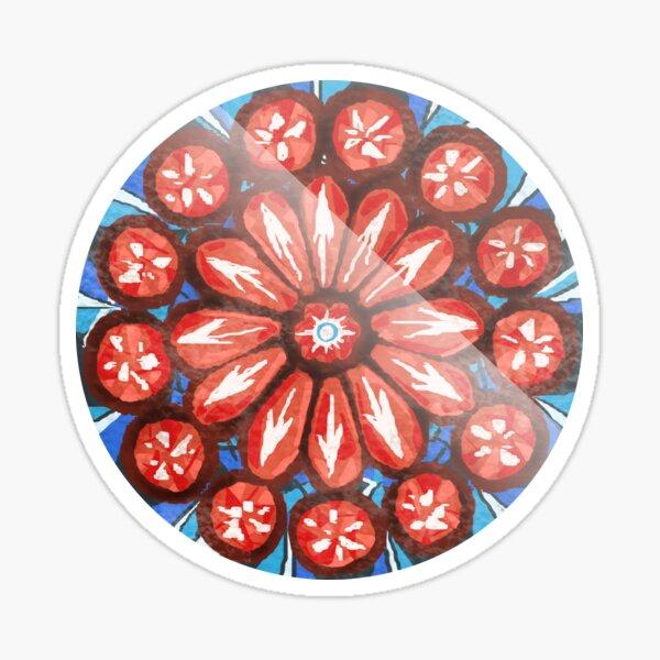 The OA Rose Window Sticker