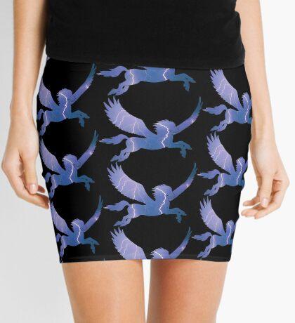 Storm Pegasus Silhouette Mini Skirt