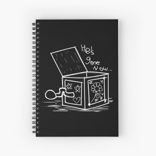 He's Gone Now Spiral Notebook