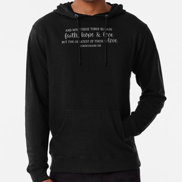 9 Colours 1-13 Years Kids Hoodie Faith Over Fear