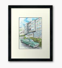 """""""Surfside Eleven"""" by Robin Galante Framed Print"""
