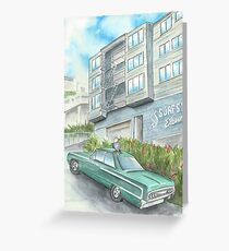 """""""Surfside Eleven"""" by Robin Galante Greeting Card"""
