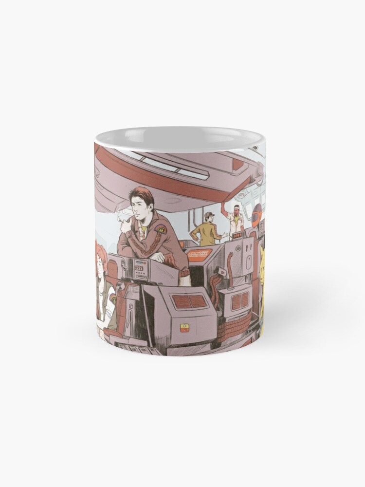 Alternate view of Aboard the Nostromo Mug