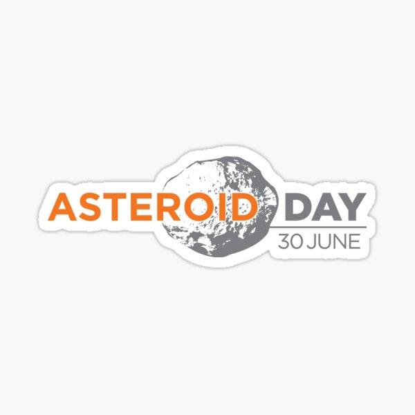 Asteroid Day Sticker