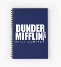 Dunder Mifflin Inc. Spiral Notebook