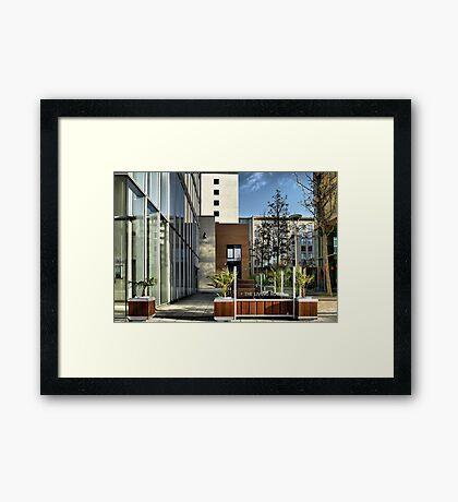 The Living Room @ The HUB Framed Print