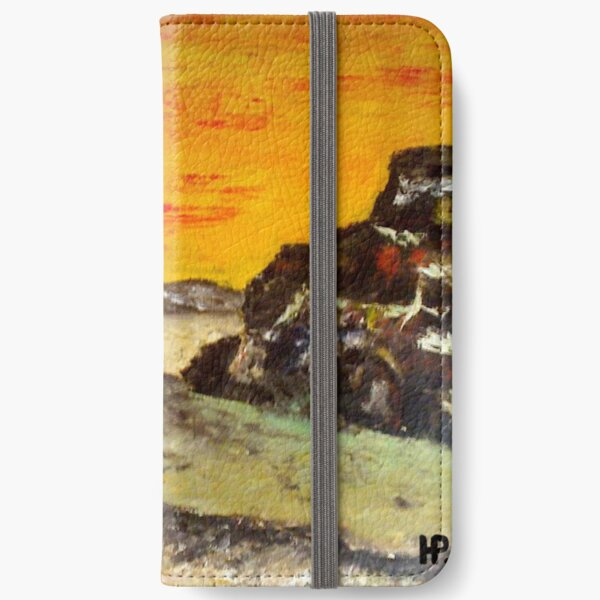 Sunset in the WIld West iPhone Wallet