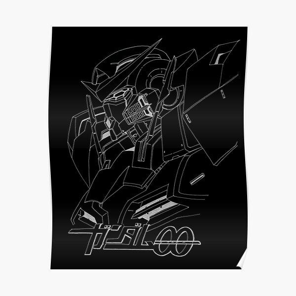 Gundam 00 Exia Bust Poster