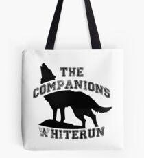 The companions of whiterun - Black Tote Bag