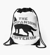 The companions of whiterun - Black Drawstring Bag