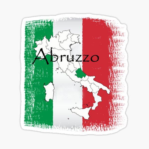 Abruzzo Italian Pride Design Sticker