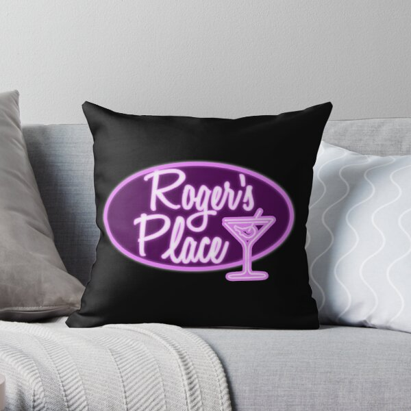 Roger's Place Throw Pillow