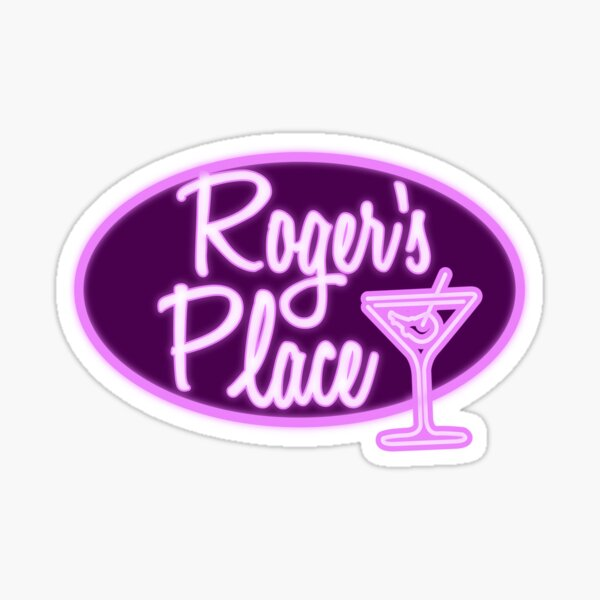 Roger's Place Sticker