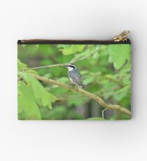 Red breasted nuthatch Zipper Pouch