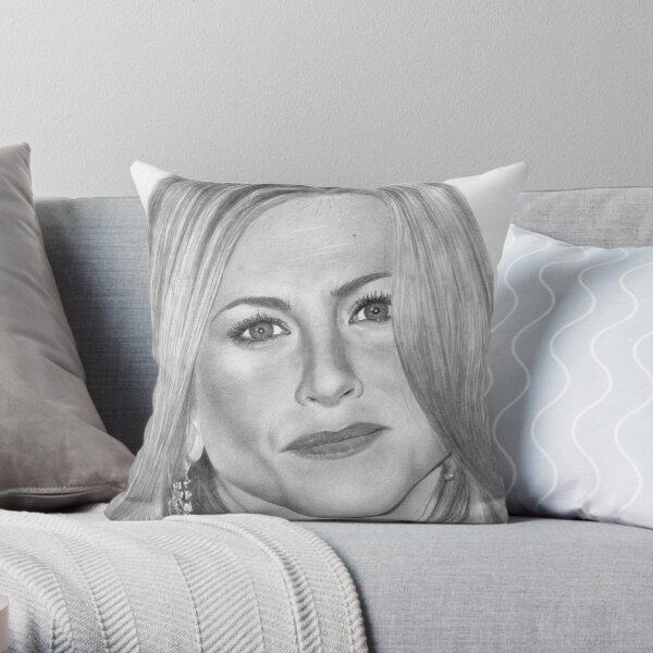 Jennifer Aniston Throw Pillow