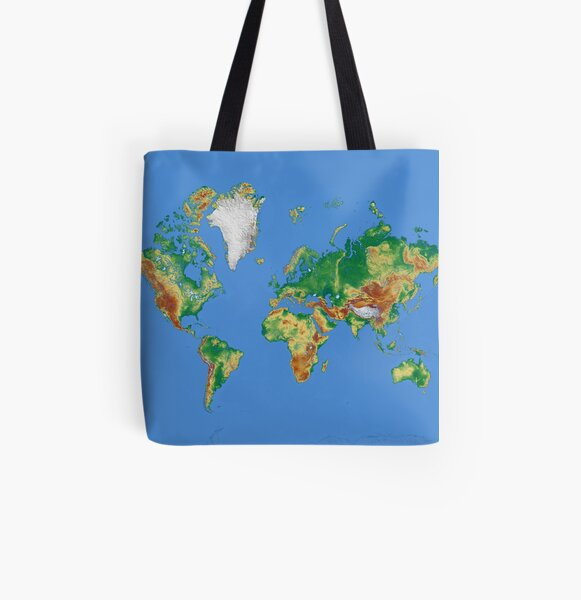 Our World All Over Print Tote Bag