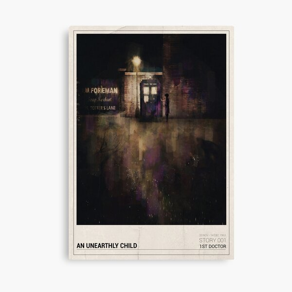 An Unearthly Child Canvas Print