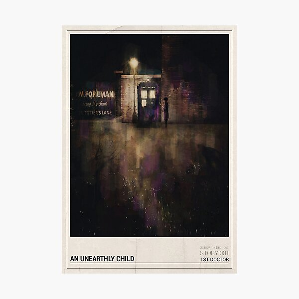 An Unearthly Child Photographic Print