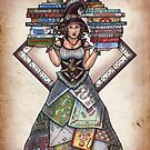 Board Game Witch by Bobbie Berendson W by Bobbie Berendson W