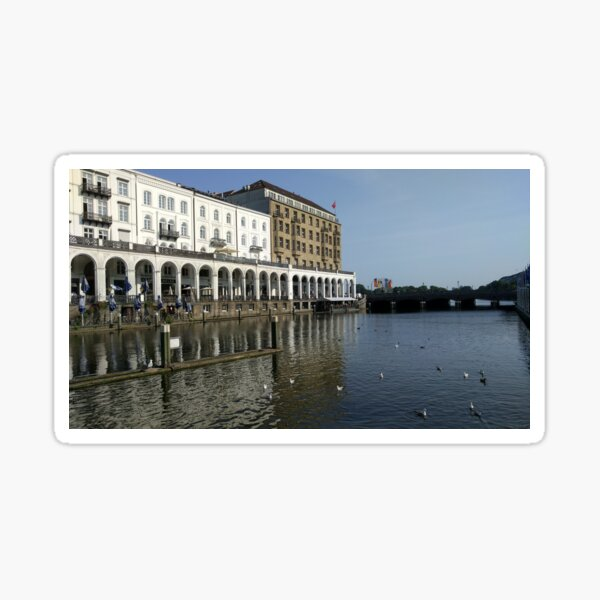 Hamburg Canal Sticker