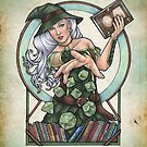 Role Playing Witch by Bobbie Berendson W by Bobbie Berendson W