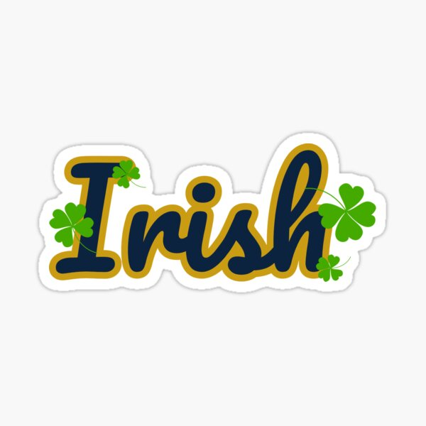 University of Notre Dame Sticker