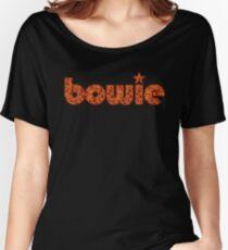 Camiseta ancha para mujer Bowie!
