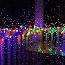 A Colorfully Rainy Night by ZeroAnd09