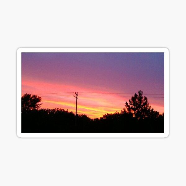 Sherbet Sunset Sticker