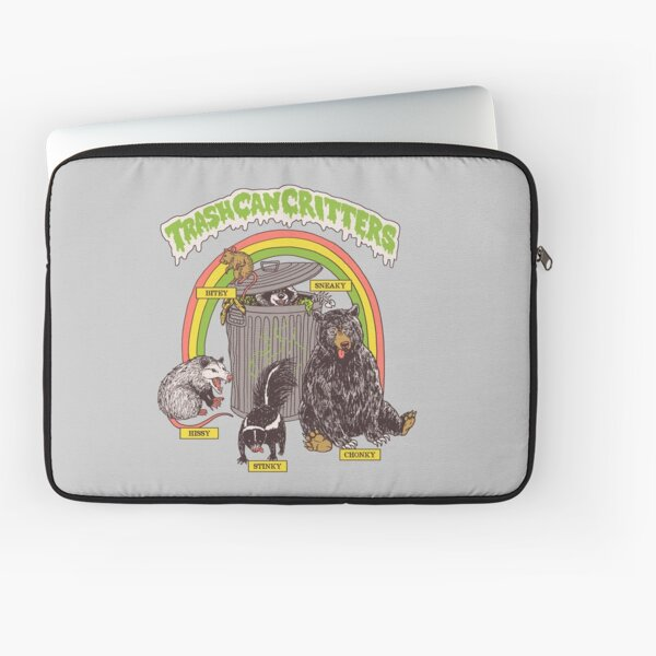 Trash Can Critters Laptop Sleeve
