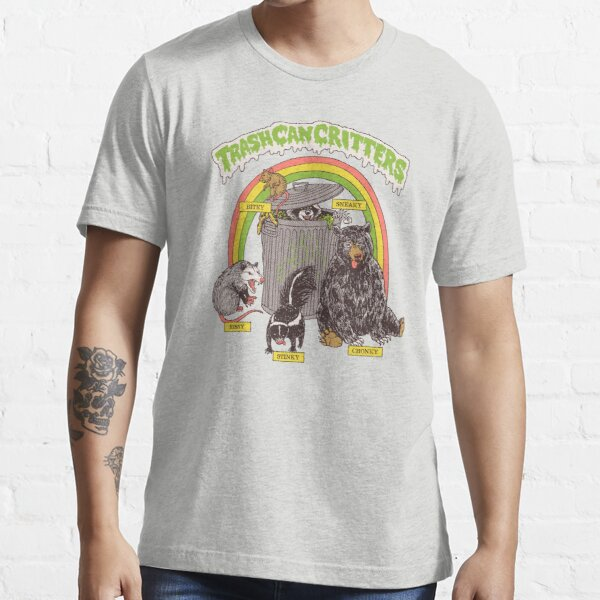 Trash Can Critters Essential T-Shirt