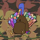 Unhappy Turkey by ZeroAnd09