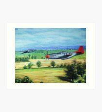 the chase-tuskeegee airmen series Art Print