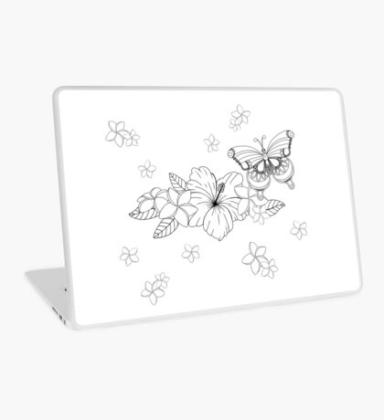 Just Add Colour - Tropical Butterfly Laptop Skin